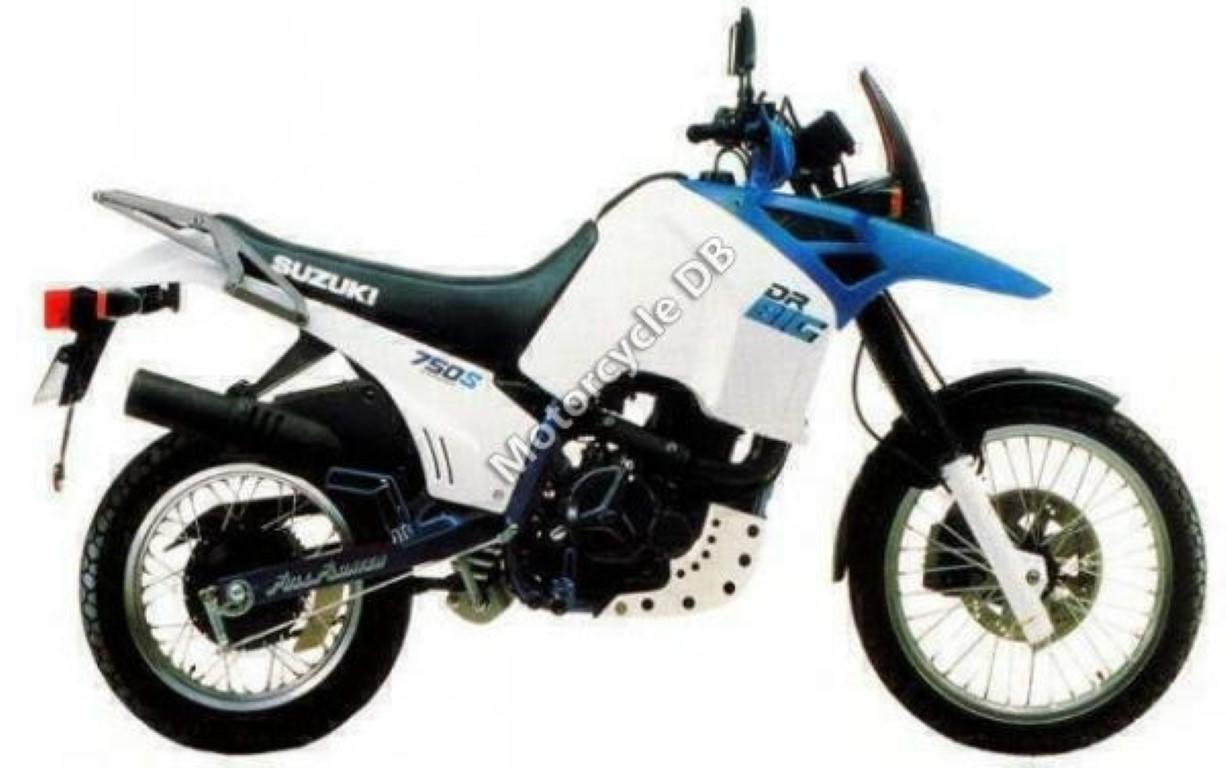 Suzuki DR Big 750 S (reduced effect) 1989 #1