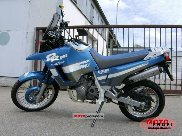Suzuki DR Big 800 S (reduced effect) 1992 #1