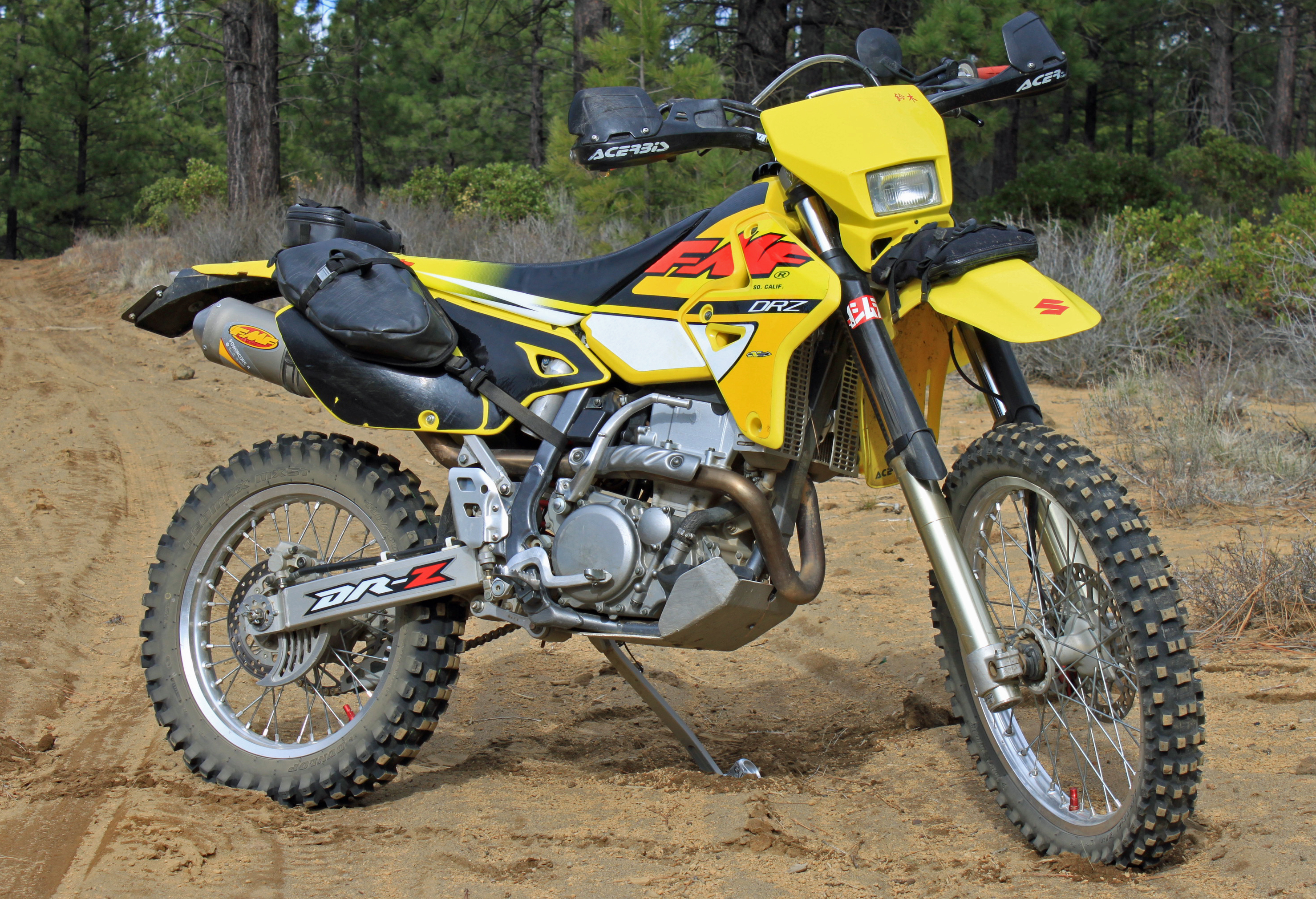 2001 suzuki drz 400 how to change oil