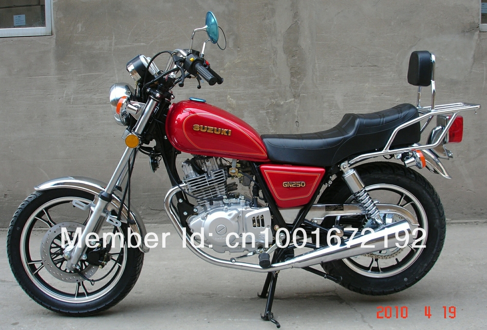 1988 suzuki gn 250 e moto zombdrive com. Black Bedroom Furniture Sets. Home Design Ideas