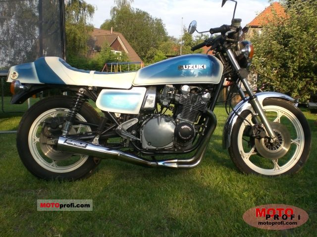 Suzuki GS 500 E (reduced effect) 1981 #11