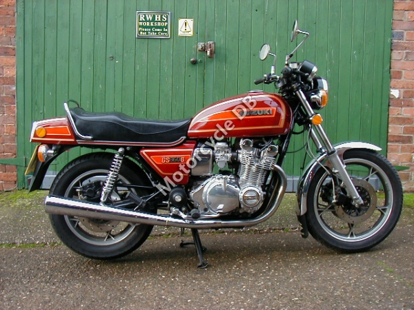 Suzuki GS 500 E (reduced effect) 1981 #7