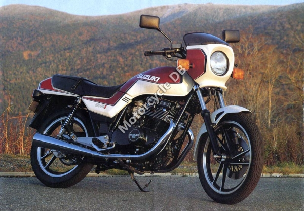 Suzuki GS 500 E (reduced effect) 1991 #2