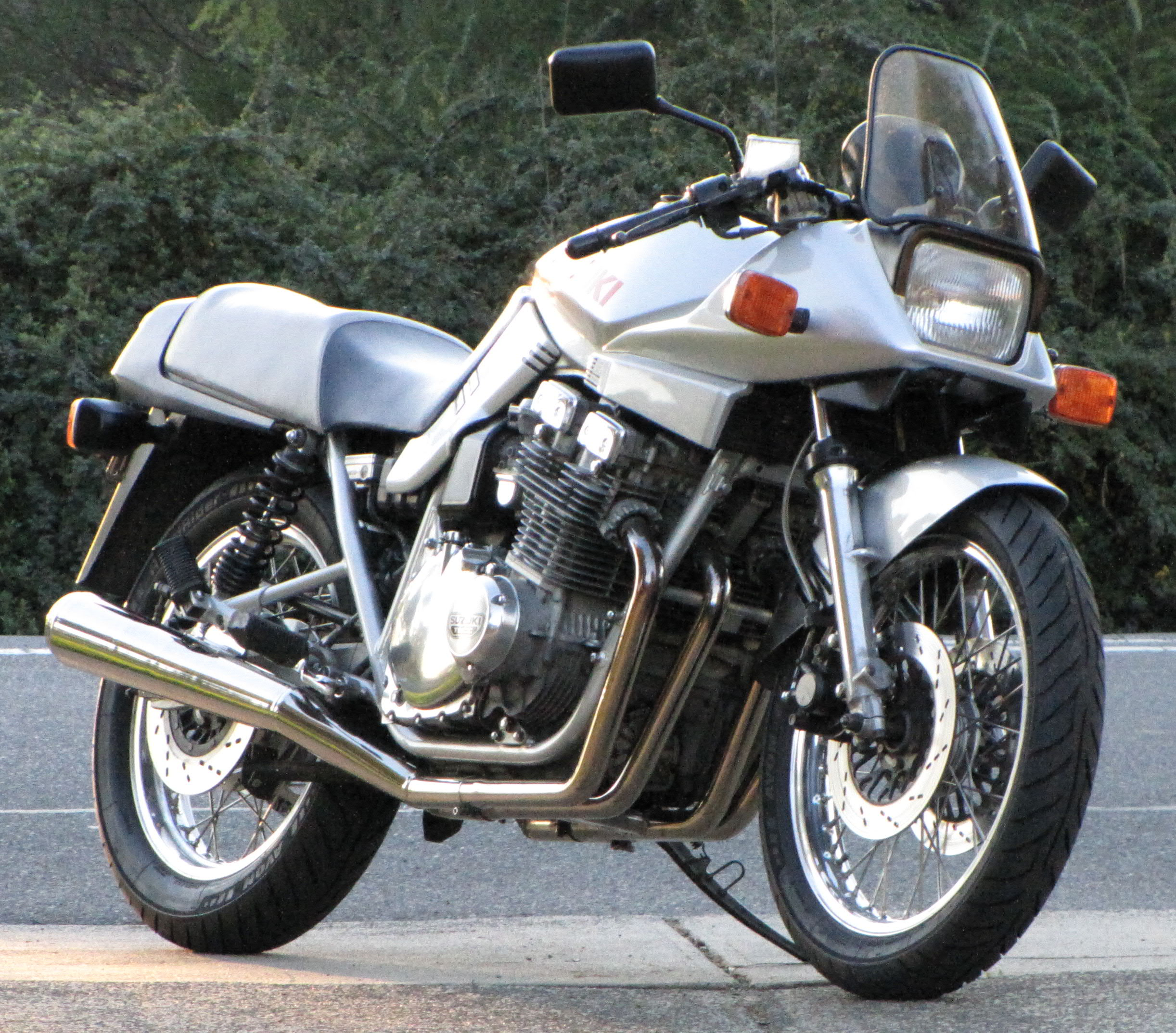 Suzuki GS 500 E (reduced effect) 1991 #7