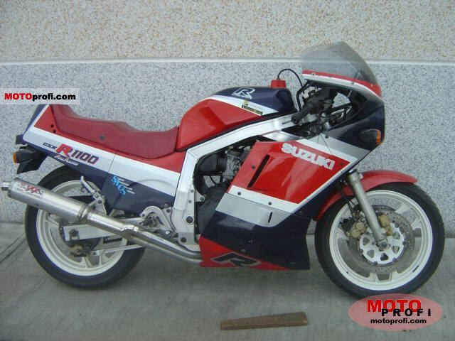 Suzuki GSX 1100 EF (reduced effect) 1986 #1