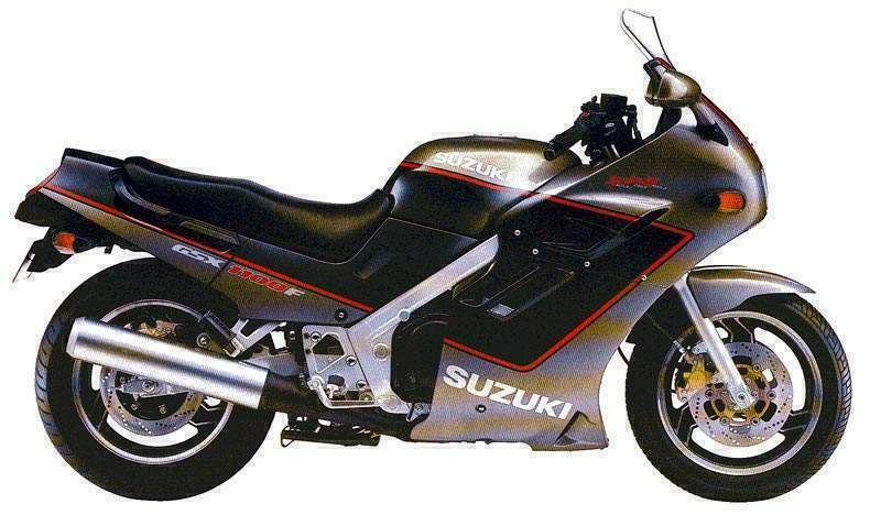 Suzuki GSX 1100 EF (reduced effect) 1986 #4