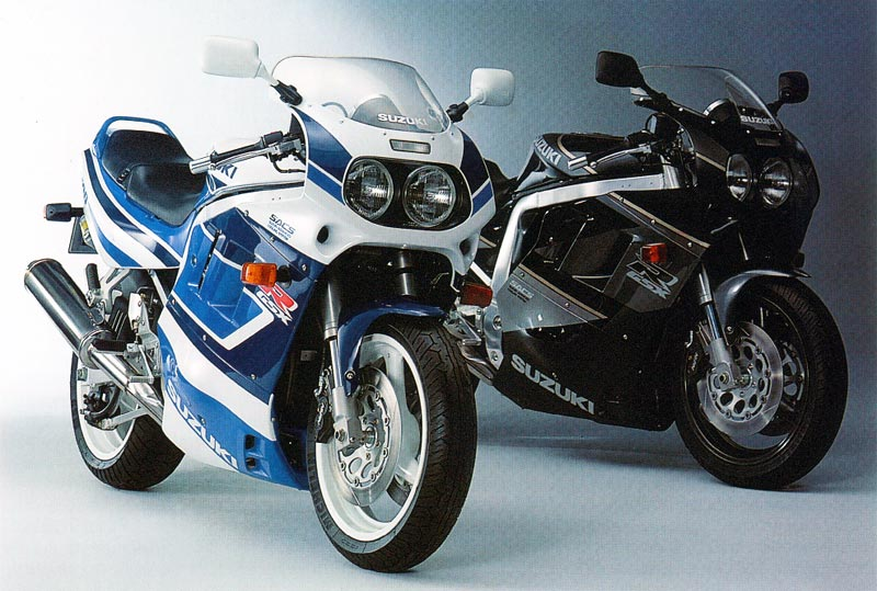 Suzuki GSX 1100 F (reduced effect) 1991 #13