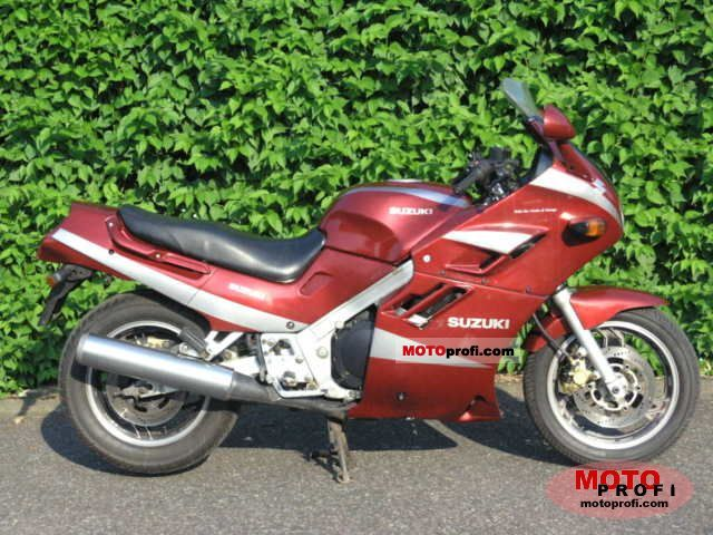 Suzuki GSX 1100 F (reduced effect) 1991 #4