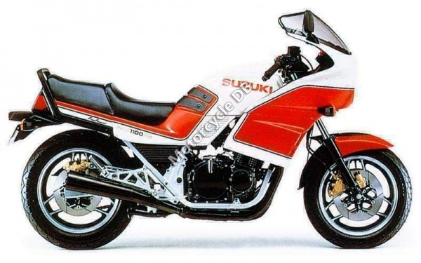 Suzuki GSX 1100 F (reduced effect) #9