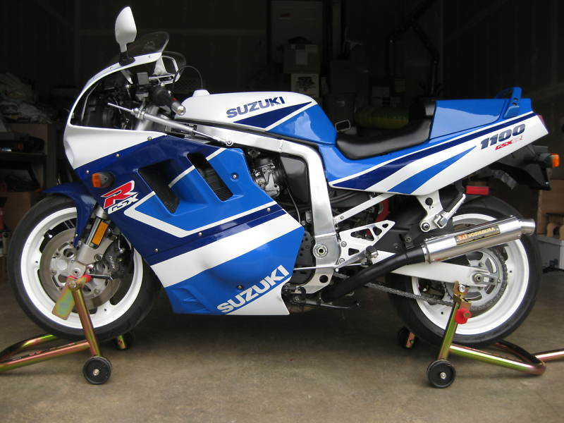 Suzuki GSX-R 1100 (reduced effect) 1989 #6