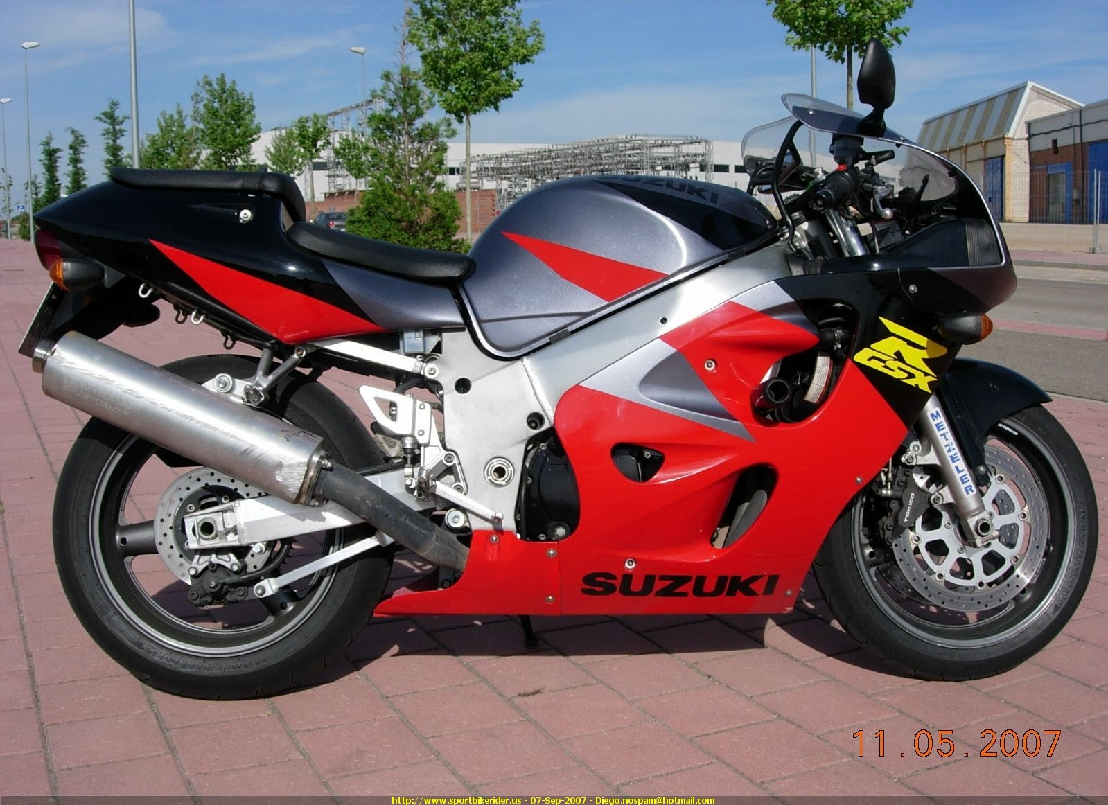 1997 suzuki gsx r 600 moto zombdrive com. Black Bedroom Furniture Sets. Home Design Ideas