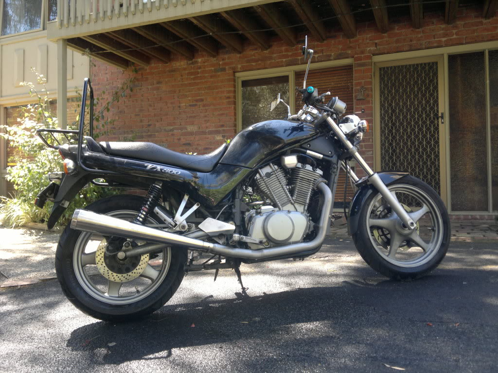 Suzuki VX 800 (reduced effect) 1992 #13