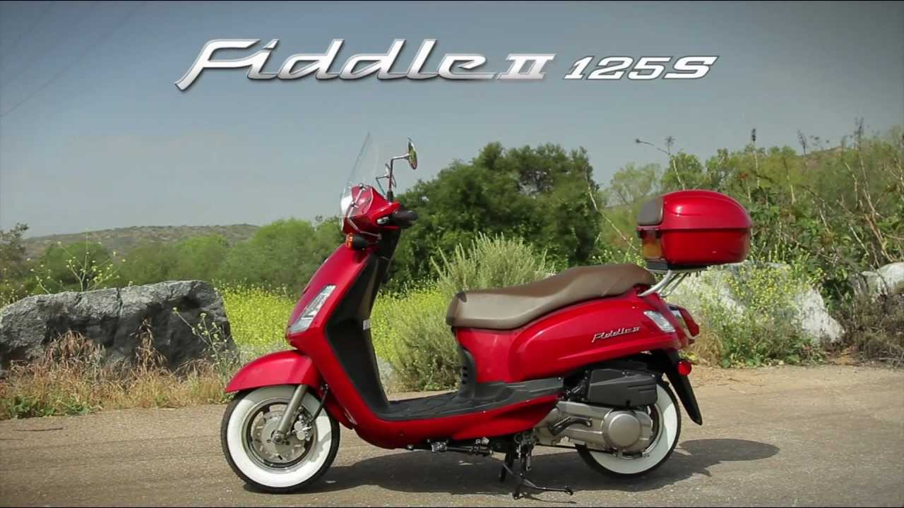 Sym Fiddle II 125 2011 #14