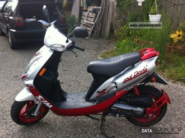 Sym Jet Red Devil 50 2008 #1