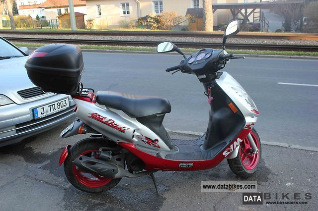 Sym Jet Red Devil 50 2008 #10