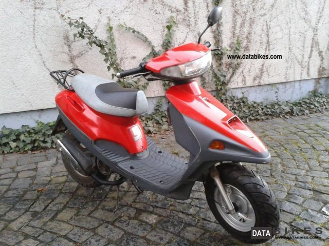 Sym Jet Red Devil 50 2008 #11