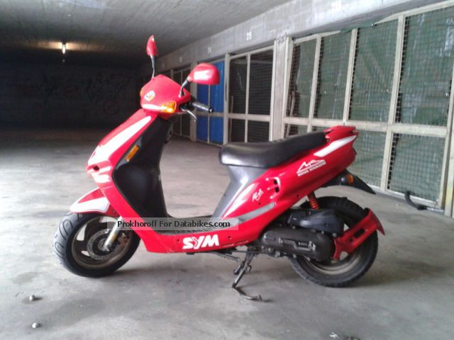Sym Jet Red Devil 50 2008 #12