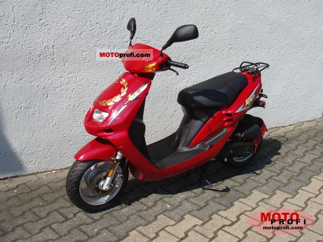 Sym Jet Red Devil 50 2008 #4