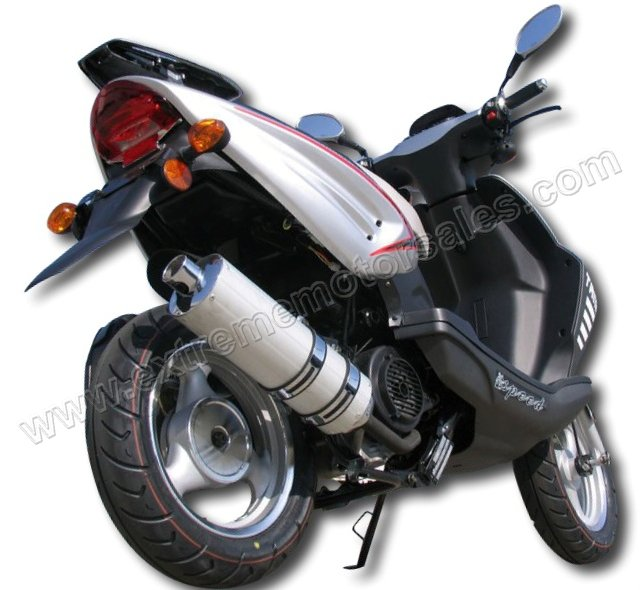 Tank Sports Urban Racer 150 DS 2008 #7