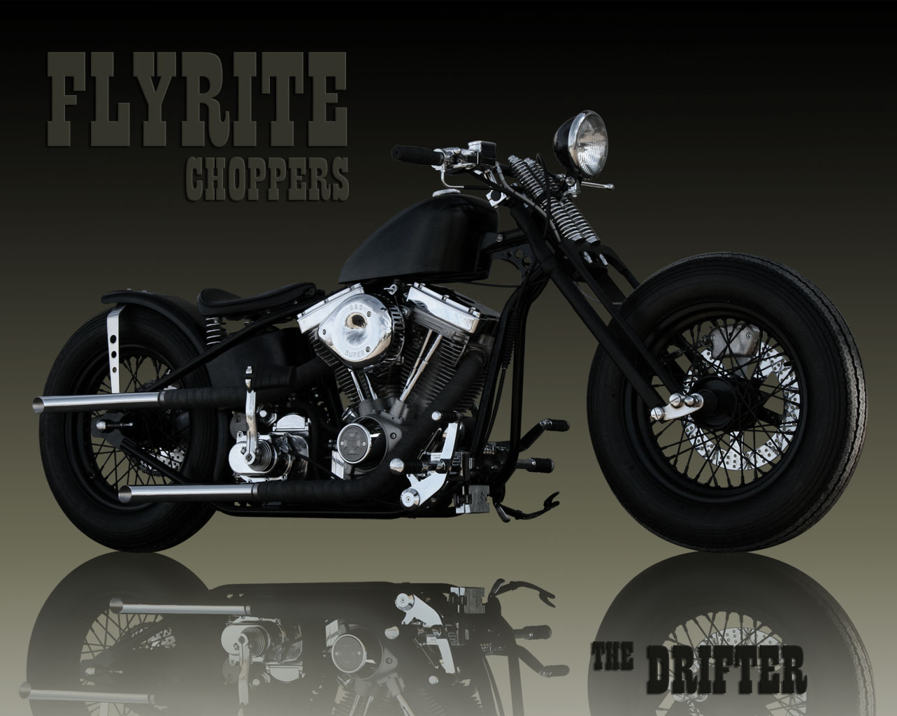 The old-school custom Flyrite Choppers Bobber draws all the eyes! #11