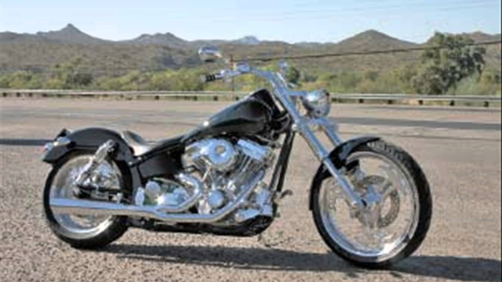 Titan Sidewinder Custom Softail Chopper #9