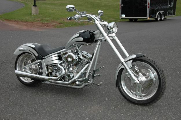 Titan Sidewinder Custom Softail Chopper #2
