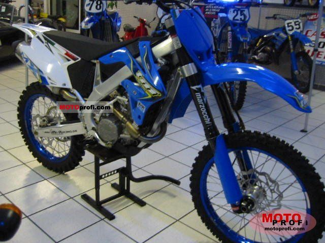 TM racing MX 125 2006 #3