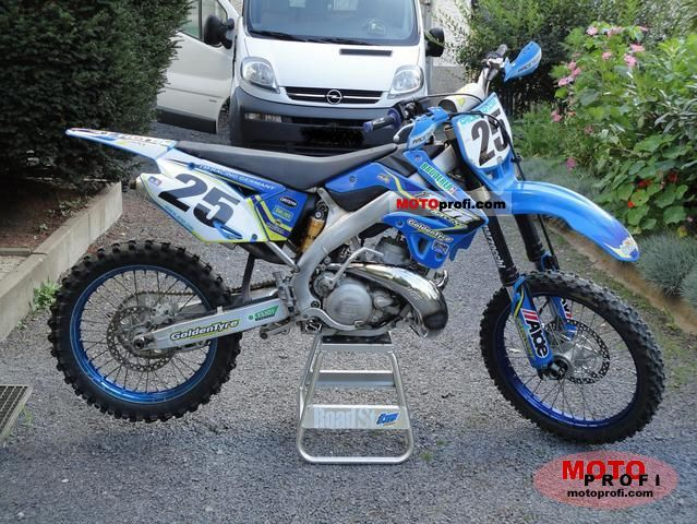 TM racing MX 250 2010 #4