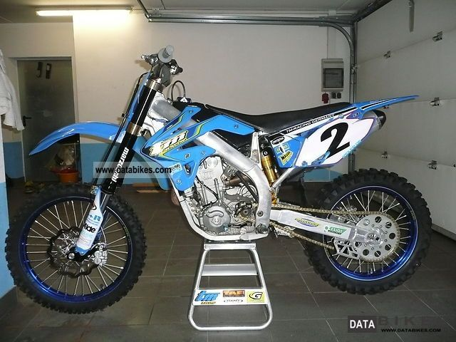 TM racing MX 250 2010 #7