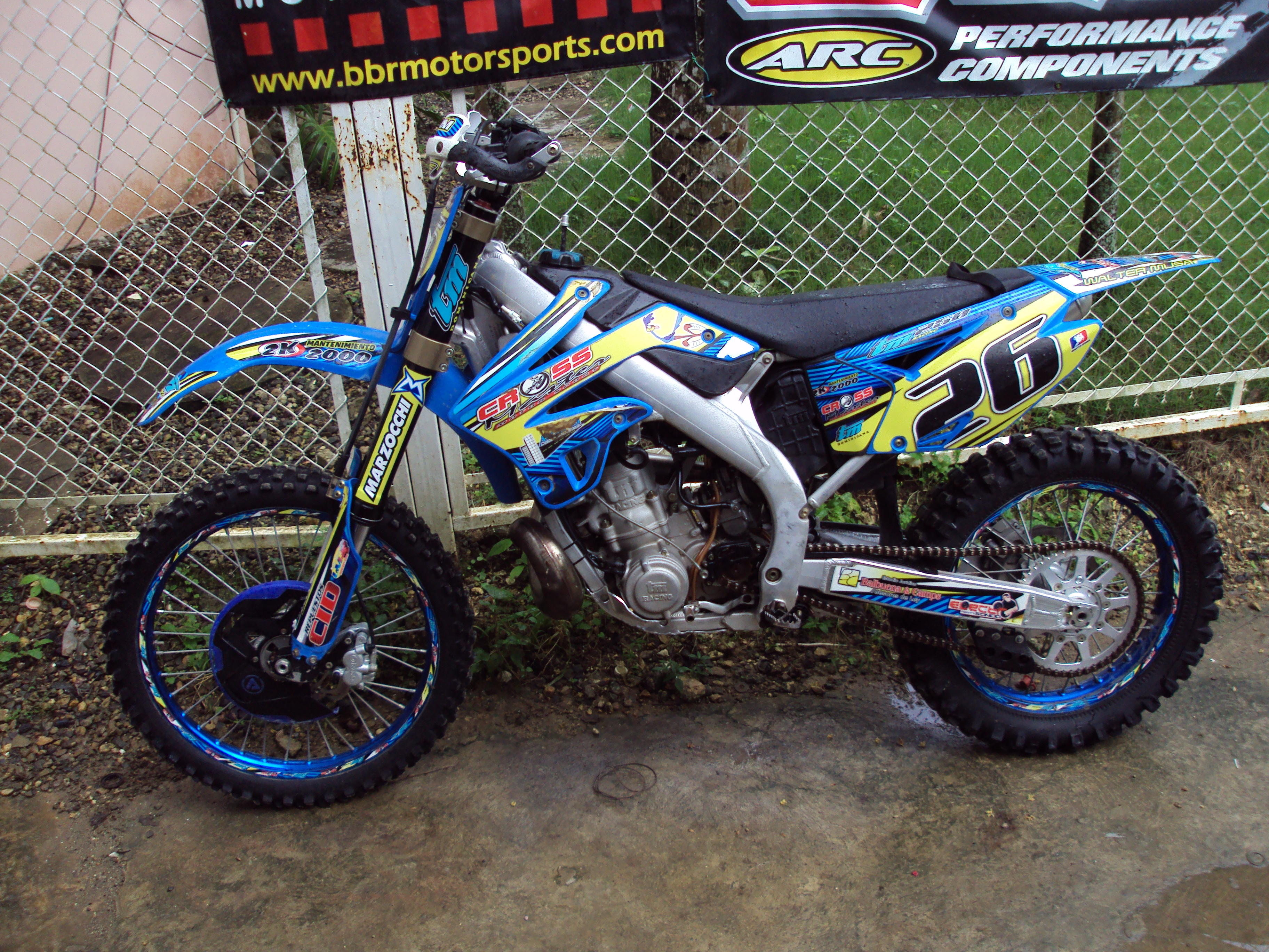 TM racing MX 250 Fi 2010 #11