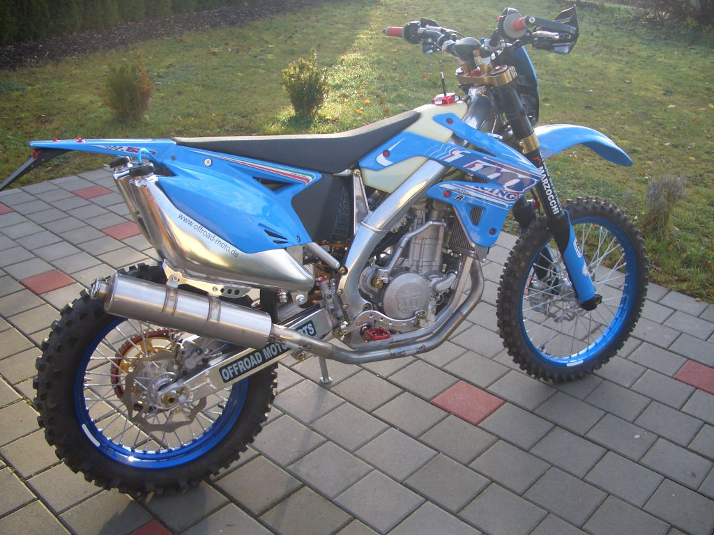 TM racing MX 530 F 2006 #9