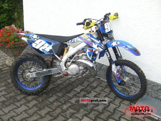 TM racing MX 530 F 2007 #10