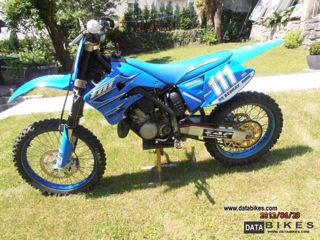 2007 TM racing MX 530 F #8