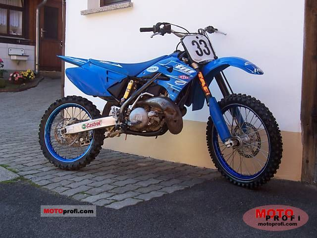 TM racing MX 530 F 2008 #10