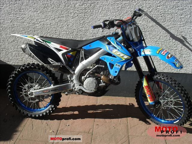 TM racing MX 85 Junior Cross #7