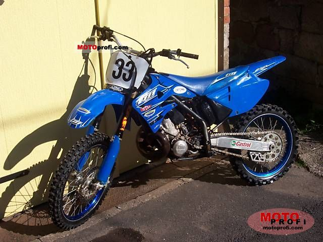 TM racing MX 85 Junior Cross #8