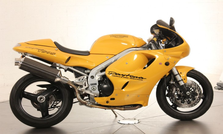 Triumph Daytona 750 (reduced effect) 1992 #4