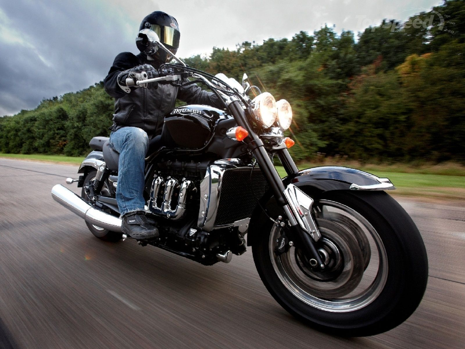 Triumph Rocket III Roadster 2012 #6