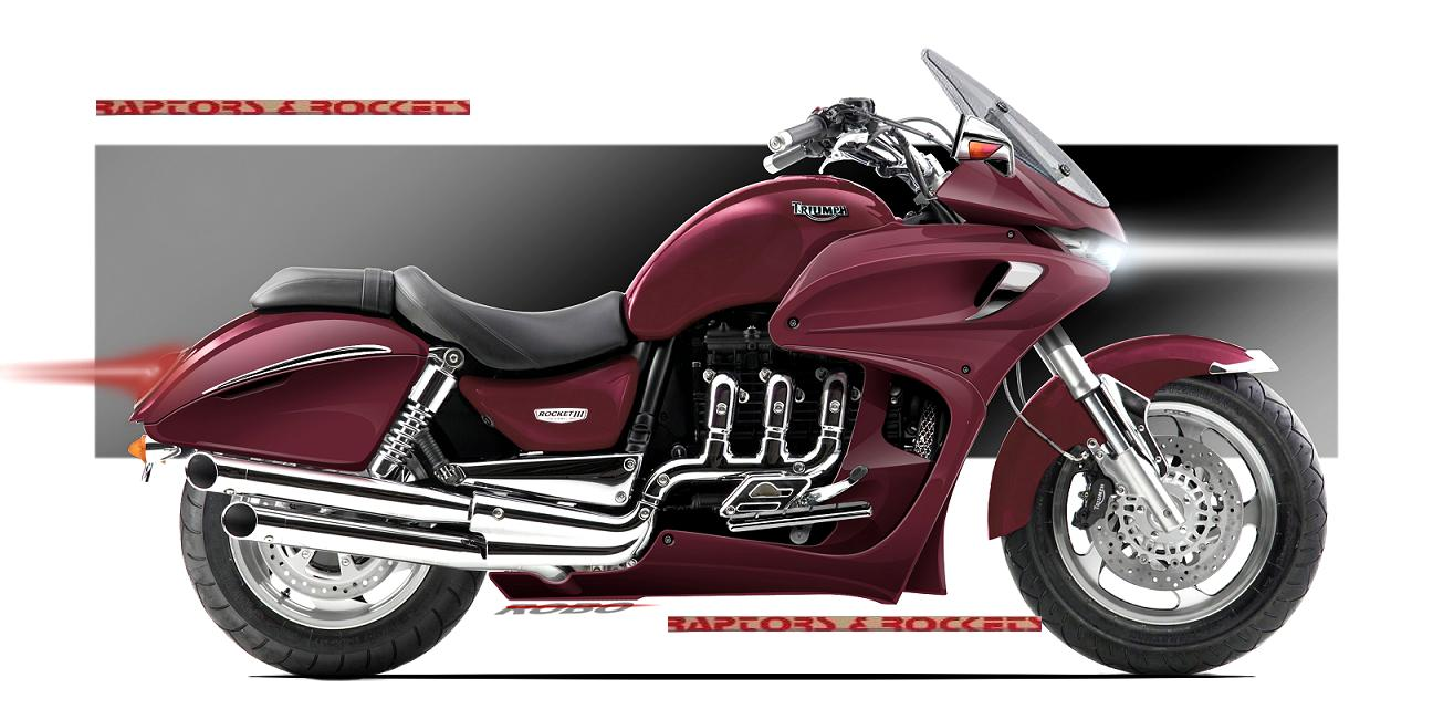 Triumph Rocket III Touring ABS #10