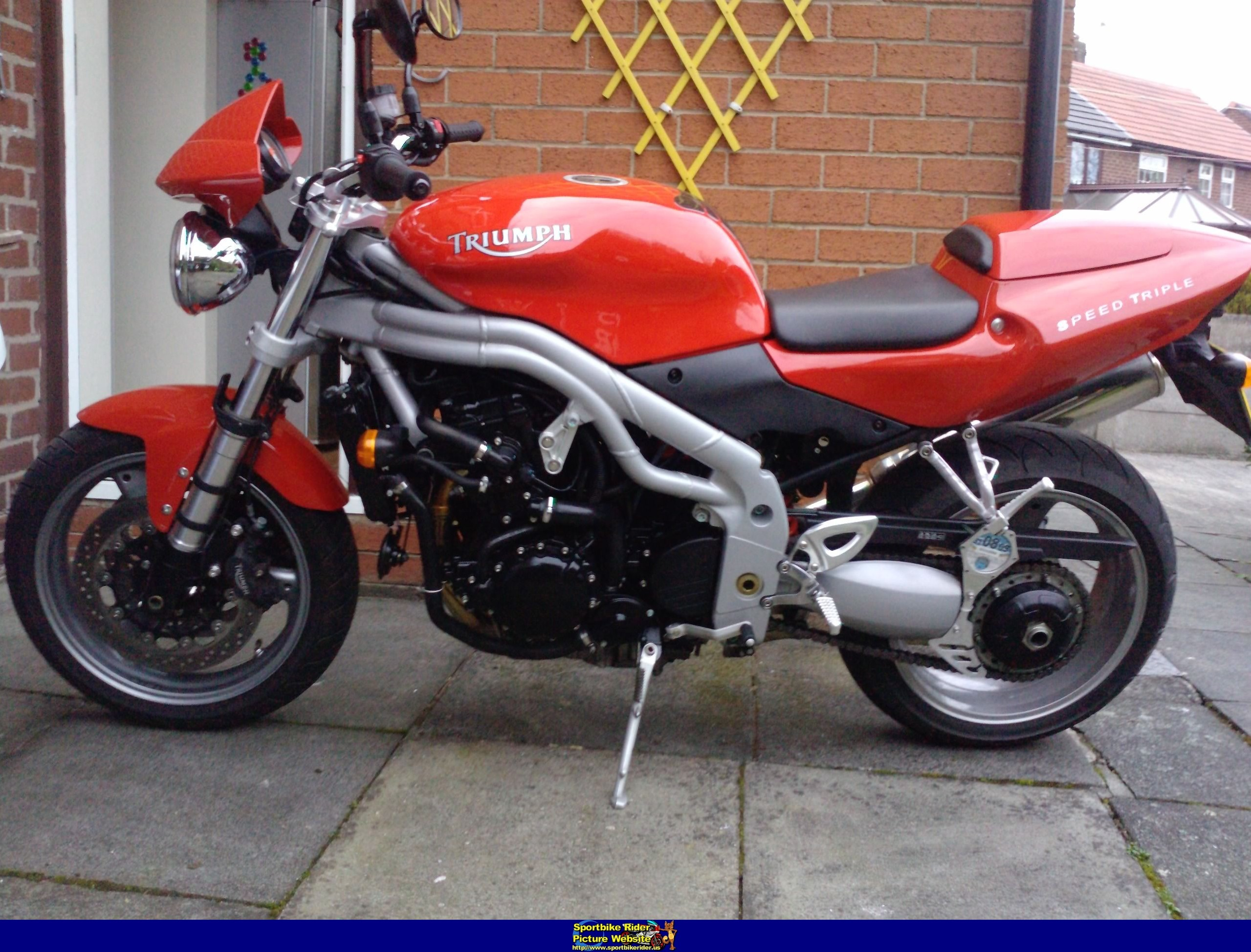 Triumph Speed Triple 2004 #4