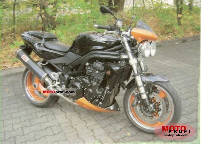 Triumph Speed Triple 2004 #5