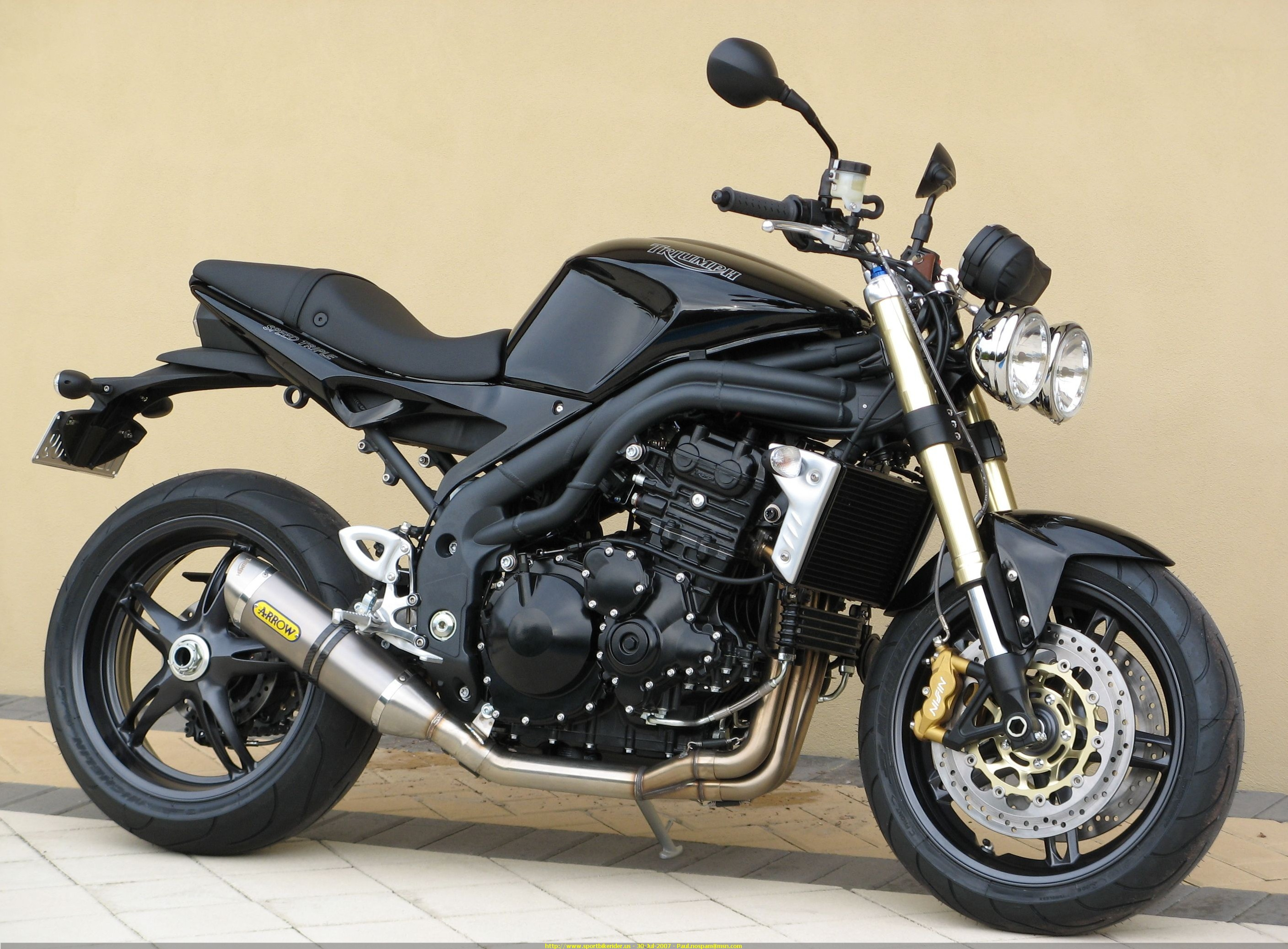 2007 TRIUMPH SPEED TRIPLE - Image #10