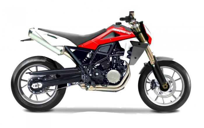 Triumph Super motard #5