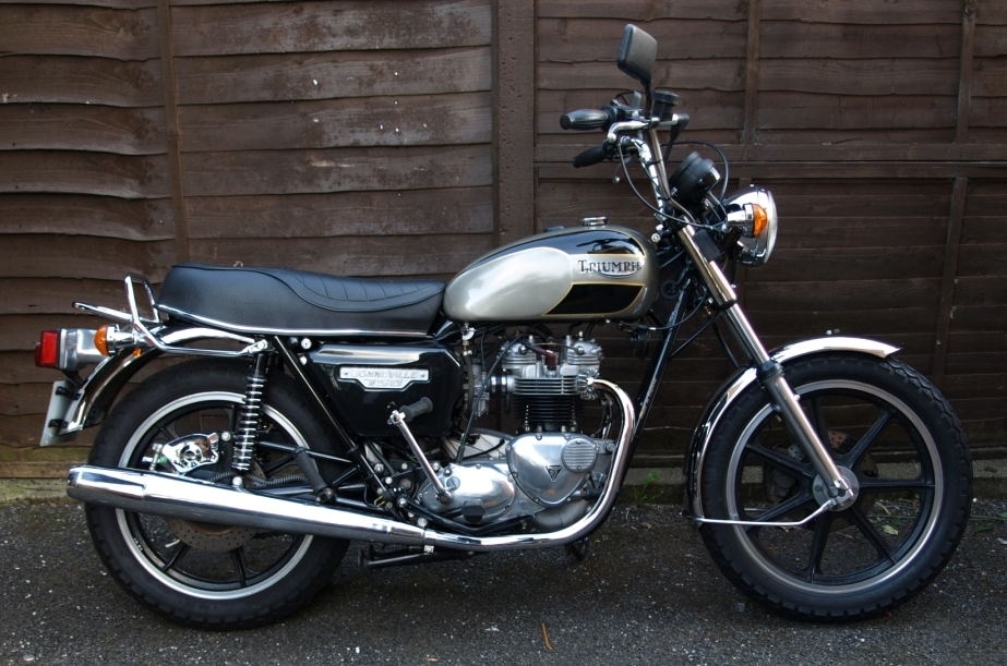Triumph T140 ES Bonneville Royal Limited Edition #4
