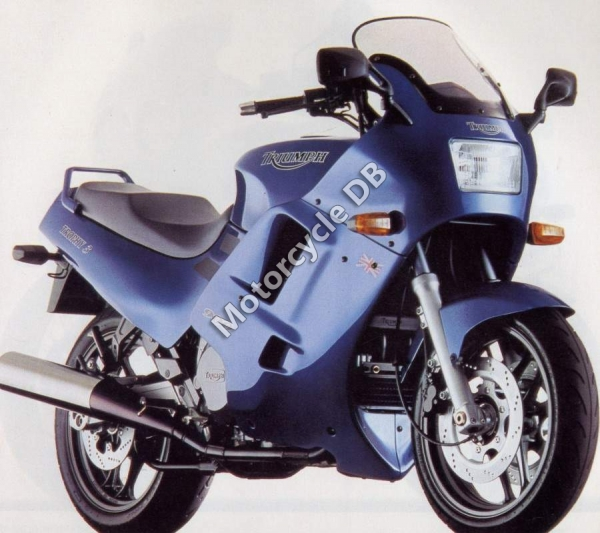 Triumph Trident 750 (reduced effect) 1991 #2