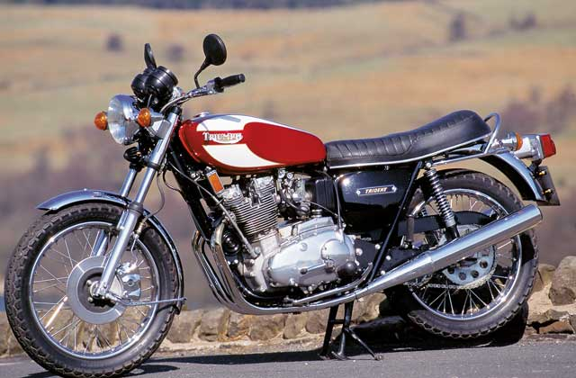 Triumph Trident 750 (reduced effect) #6