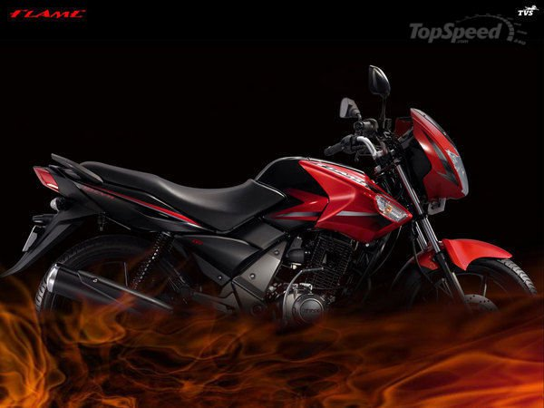 TVS Flame DS 125 2010 #2