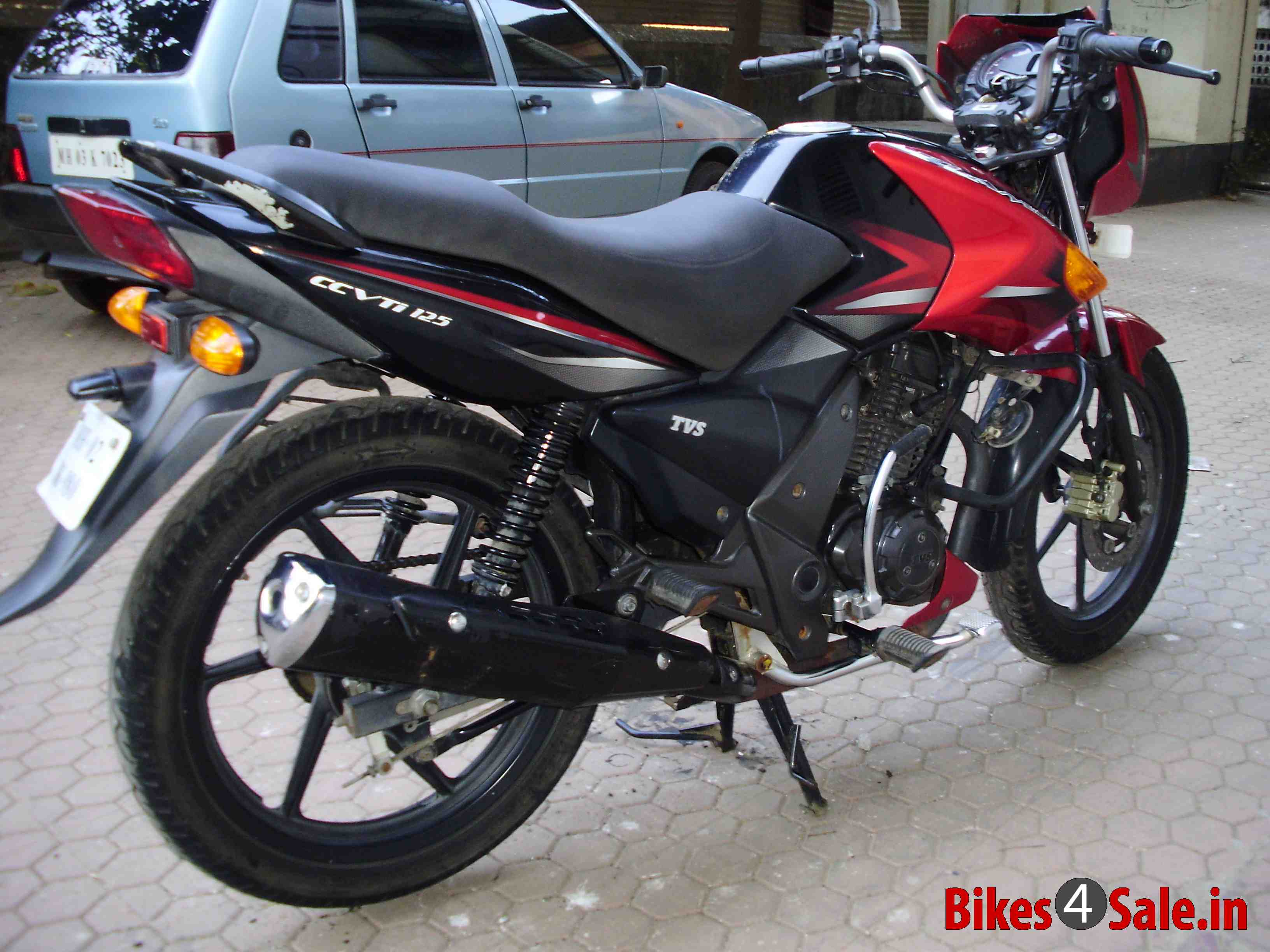 TVS Flame DS 125 2010 #4