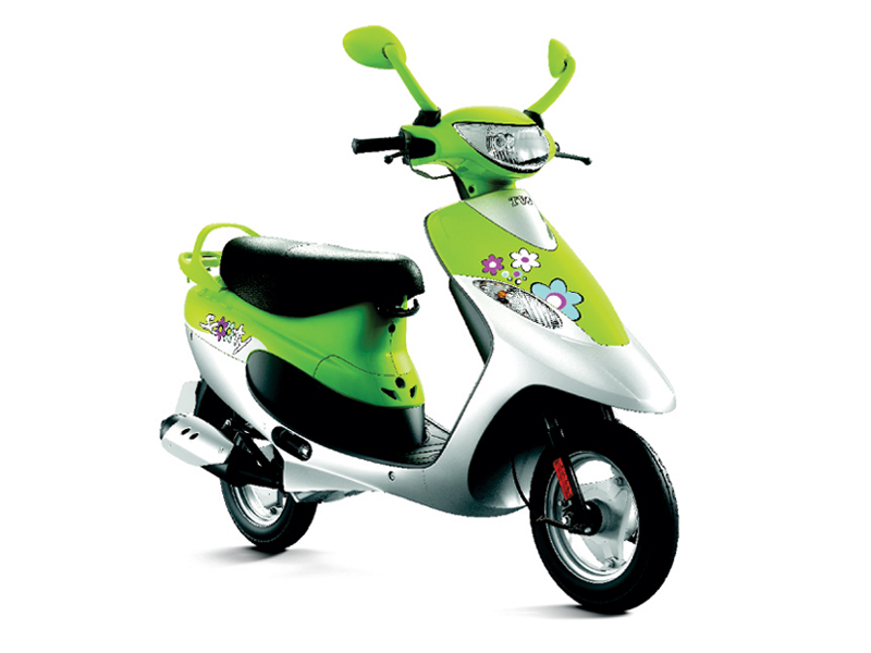 TVS SCOOTY - an attractive and fun scooter from TVS Motor #3