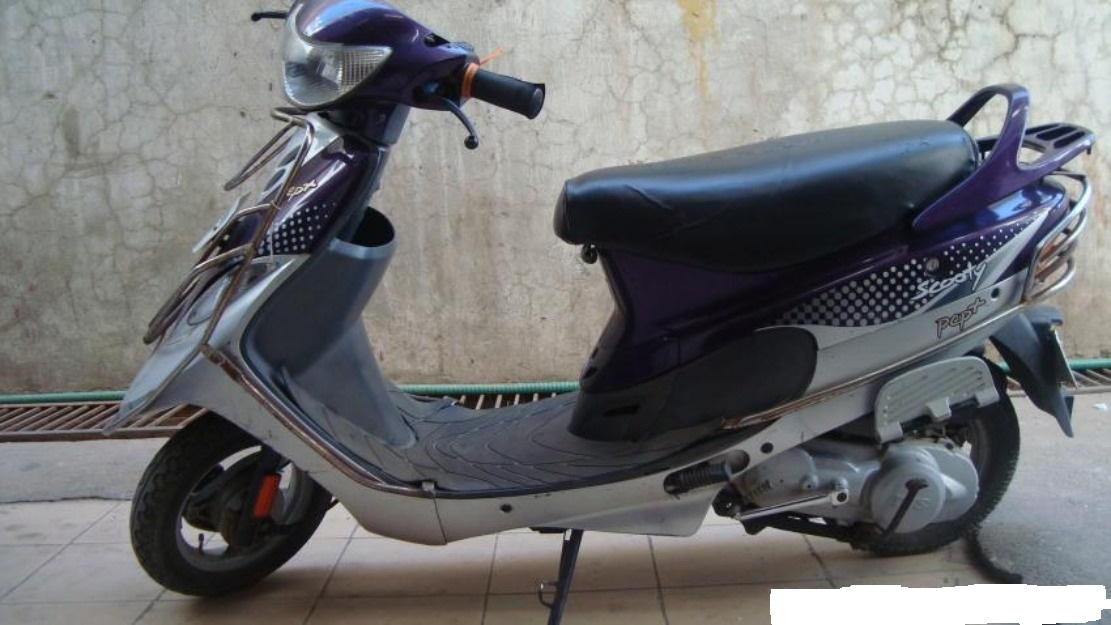 TVS Scooty PEP Plus 2011 #6